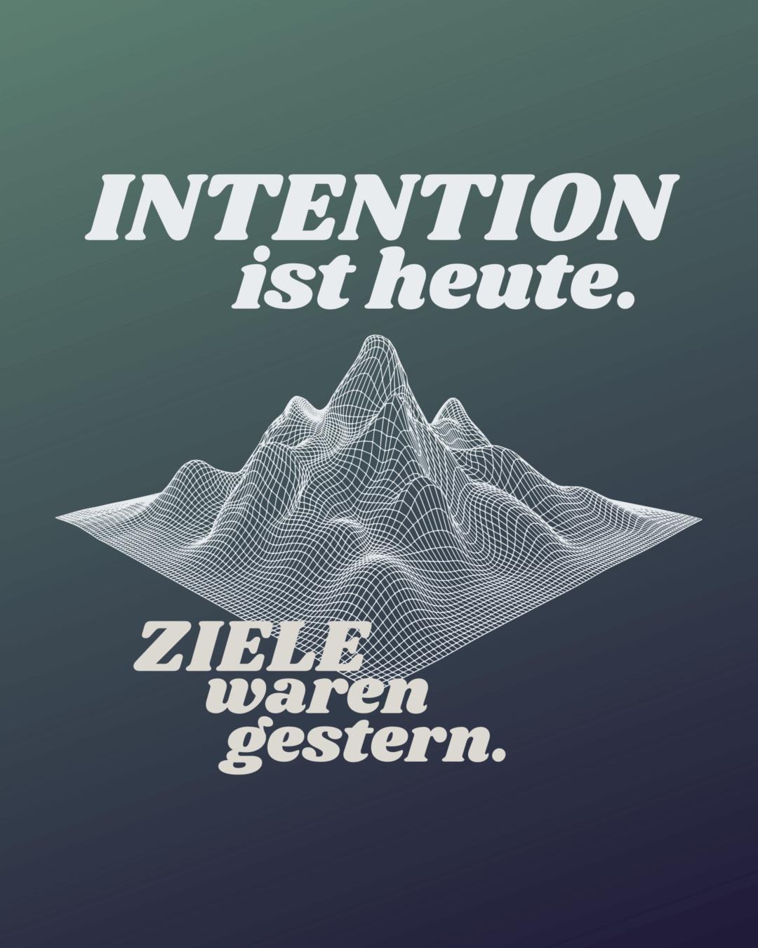 Intention vs. Ziel