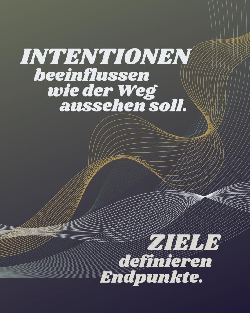 Intention vs. Ziel 2